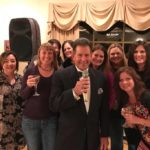 Tony with the Girls at Berkleigh Country Club